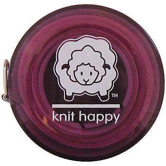 Knit Happy Tape Measure Purple Kh652 Pu