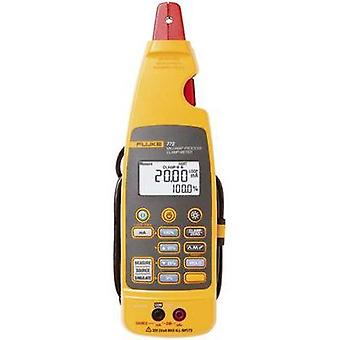 Current clamp, Handheld multimeter digital Fluke 772 Calibrated to: Manufacturer standards Current draw reading CAT II 3
