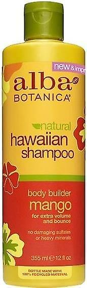 Alba Botanica Natural Hawaiian Shampoo Body Builder Mango