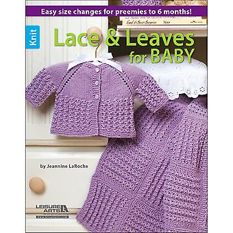 Leisure Arts-Knit Lace & Leaves For Baby LA-6566