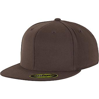 FLEXFIT premie 210 utstyrt Cap - Brown