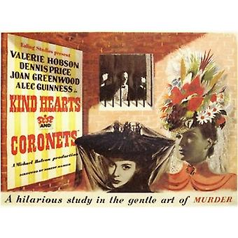 Kind Hearts and Coronets Movie Poster (17 x 11)