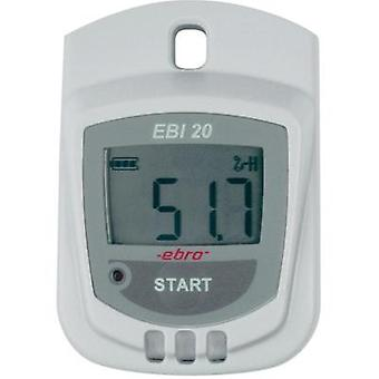 Multi-channel data logger ebro EBI 20-TH1 Unit of measurement Humidity, Temperature -30 up to +60 °C 0 up to 100 % RH