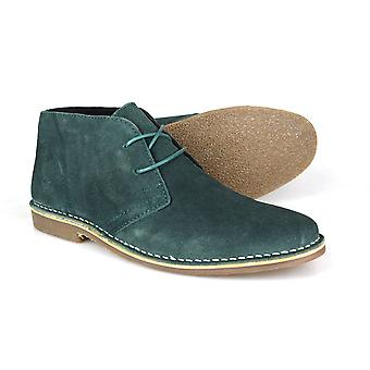 Red Tape Gobi Suede Teal Men's Desert Boots