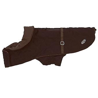 Buster City Dog Coat Bitter Chocolate Small