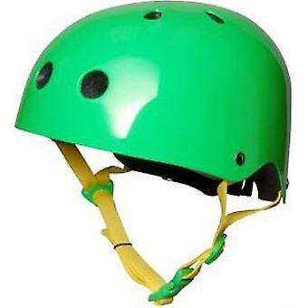 Kiddimoto hjälm - Neon grön