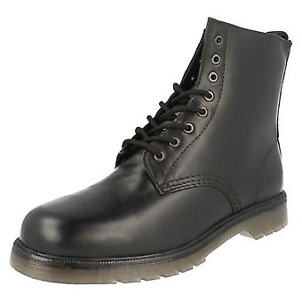 Mens Maverick Military Style Lace Up Boot 1900B