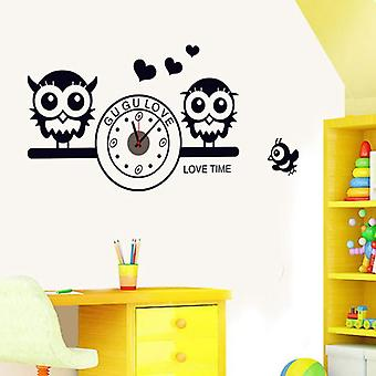 Superstudio adhesive vinyl Owl Clock