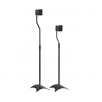 AVF Universal par de soportes para altavoces - negro