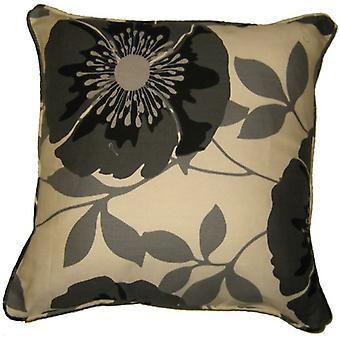 Isla Polycotton 18 x 18 tryckt blommig kudde täcka i färger