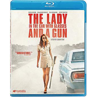 Lady in the Car with Glasses & a Gun [Blu-ray] USA import