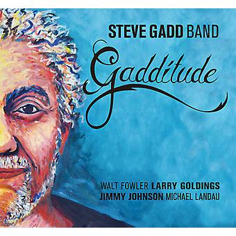 Steve Gadd Band - Gadditude [CD] USA import