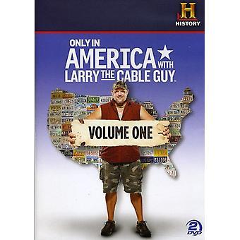 Kun i Amerika med Larry Cable Guy, Vol. 1 [DVD] USA importerer