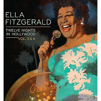 Ella Fitzgerald - Ella Fitzgerald: Vol. 3-4-Twelve Nights in Hollywood [CD] USA import