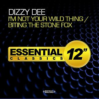 Dizzy Dee - I'm Not Your Wild Thing / Biting the Stone Fox [CD] USA import