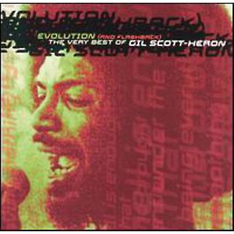 Gil Scott-Heron - Evolution (& Flashback)-Very B [CD] USA import