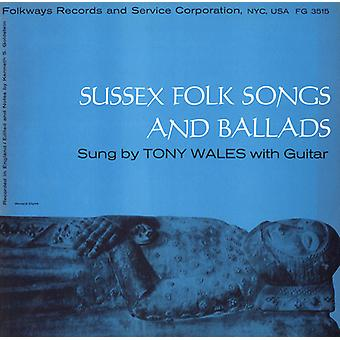 Tony Wales - Sussex Folk Songs & Ballads [CD] USA import