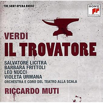Riccardo Muti - Verdi: Il Trovatore [CD] USA import
