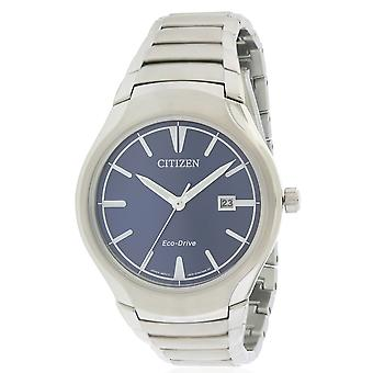 Citizen Eco-Drive Paradigm Stainless Steel Mens Watch AW1550-50L