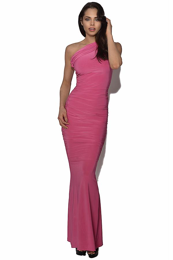 Honor Gold Pink Maxi Dress