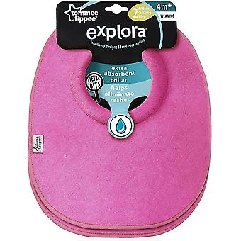 Tommee Tippee Explora Dribble Catcher bavoirs x 2