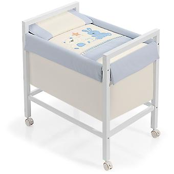 Interbaby Minicuna Square Bear Blue Star Model