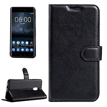 Pocket wallet premium black for Nokia 6 protection sleeve case cover pouch new