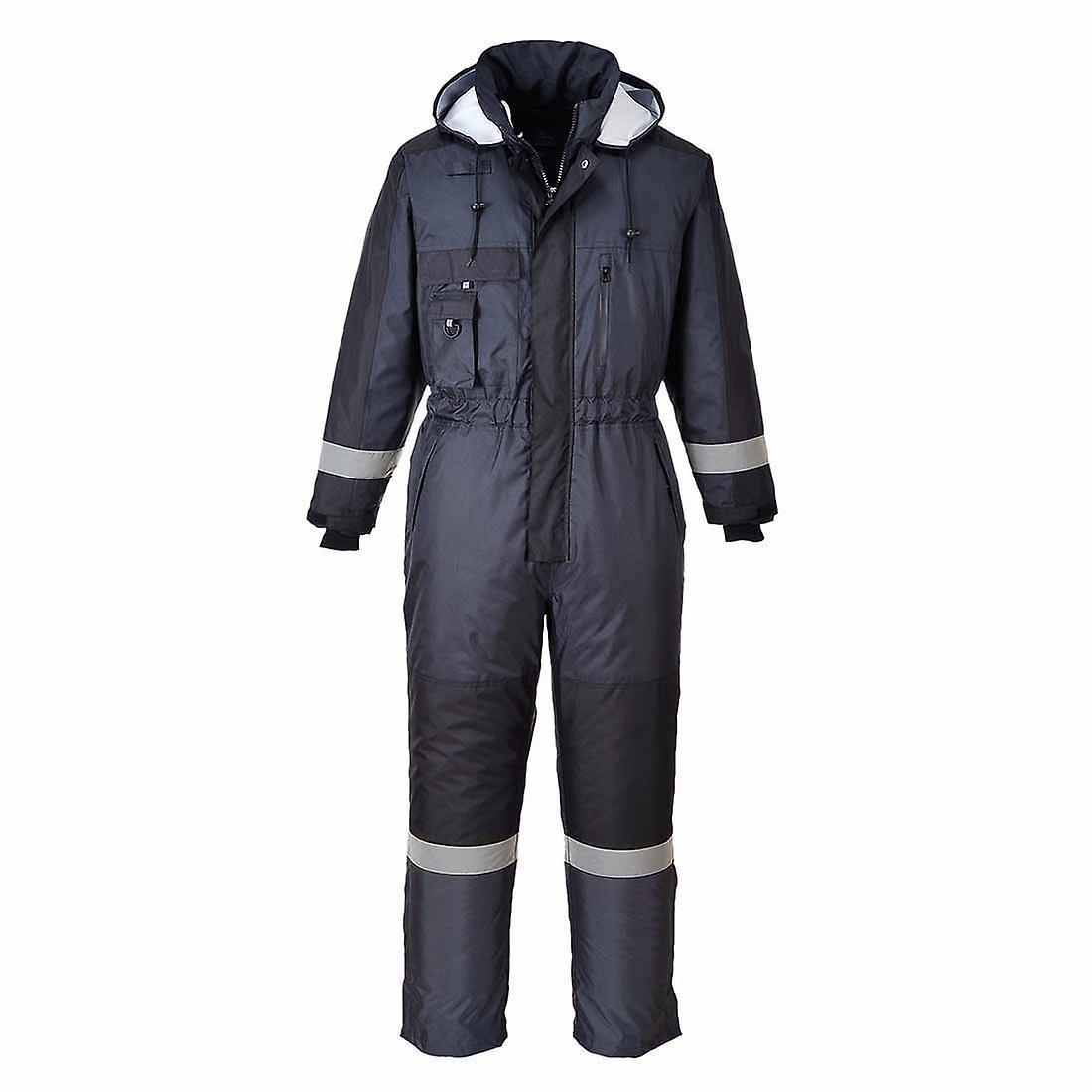 بورتويست--فوطة الشتاء الدافئة الوظيفية عمال في الهواء الطلق مع حزمة هود بعيداً