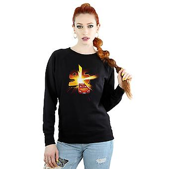 Der Frauen Disney Cars Lightning McQueen Burst Sweatshirt