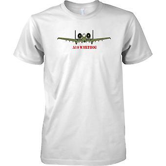 A10 Warthog - USAF Dinamo militärische Tankbusting Flugzeug - Herren-T-Shirt