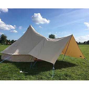 Medium Canvas Bell Tent Awning 360 x 240 – 2 pole