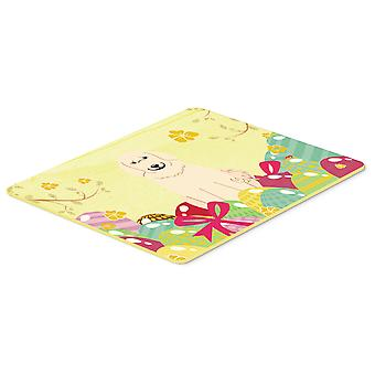 Easter Eggs Great Pyrenese Kitchen or Bath Mat 20x30
