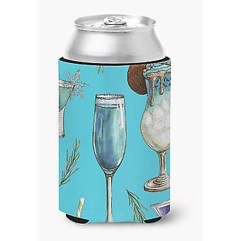 Carolines Treasures  BB5203CC Drinks and Cocktails Blue Can or Bottle Hugger