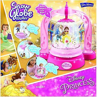 John Adams Disney Princess Snow Globe fabricante de la belleza y la bestia *