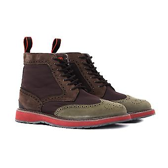 SWIMS Barry Brown High Top Brogues