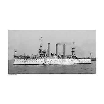 USS Brooklyn 1896 Poster Print (19 x 13)