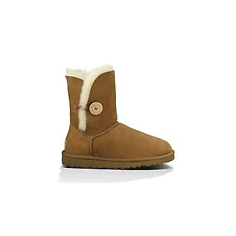 UGG BAILEY BUTTON CHESTNUT CHELSEA BOOT