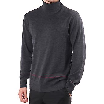 PS Paul Smith Rollneck Jumper With Contrast Detail