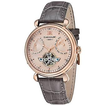 Thomas Earnshaw l'orologio calendario Grand - Rose Gold/Grey