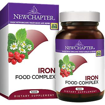 New Chapter Iron Food Complex Tablets 60 Ct