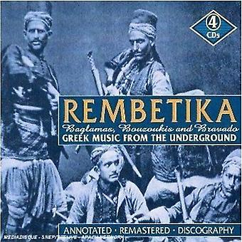 Rembetika-Greek Music From the Underworld - Rembetika-Greek Music From the Underworld [CD] USA import