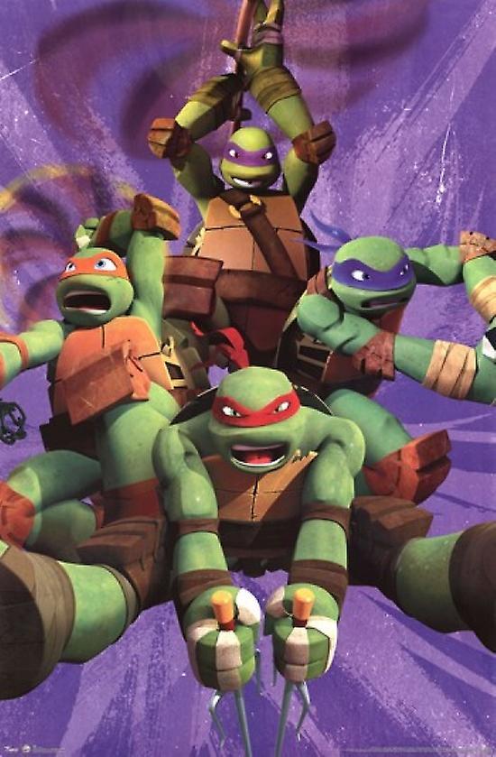 Teenage Mutant Ninja Turtles - Team Poster Print