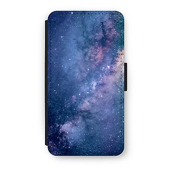 iPhone X Flip Case - Nebula