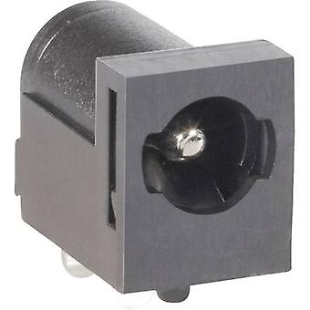 Low power connector Socket, horizontal mount 5.5 mm 2.1 mm