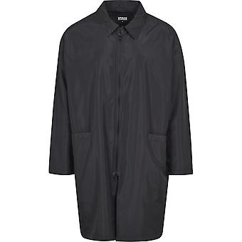 Urban classics - oversized trench coat jacket black