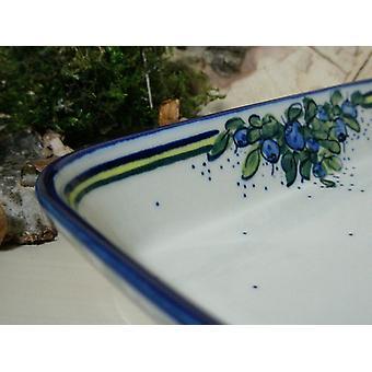 Dish / casserole, 19 x 24 x 4 cm, unique 40 - porcelain - BSN 6597