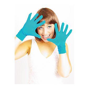 Handschoenen kort handschoenen blauw