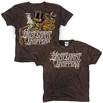 West Coast choppers T-Shirt Onride Brown