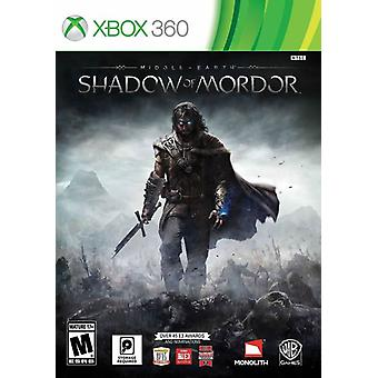 Mittelerde-Schatten von Mordor Xbox 360 Spiel