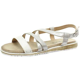 Cipriata Marcella Womens Buckle Halter Crossover Sandals  AND COLOURS